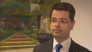 James Brokenshire was in Brussels to give an update on Northern Ireland.