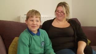 Zach and mum