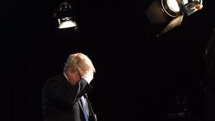 Boris Johnson's comments are in the spotlight.