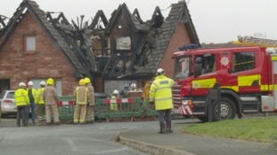 Police treating Annan house fire as 'suspicious'