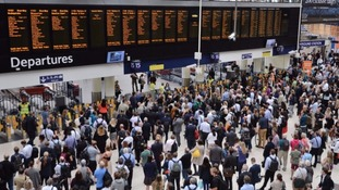 Commuters between Surrey and London Waterloo will be affected.