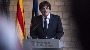 Former Catalan leader Carles Puigdemont has exiled himself in Belgium.