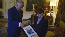 Ted Lewis got the chance to meet Prince Charles at the Palace.