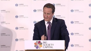 David Cameron talked about the issue of 'secret courts' at a news conference today.