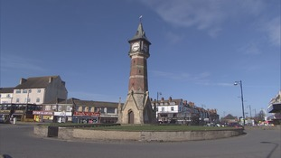 The Clock Tower in Skegness