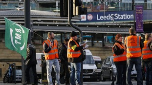 Passengers face disruption as rail workers strike again