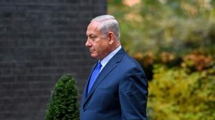 Priti Patel met Israeli Prime Minister Benjamin Netanyahu.