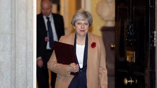 Theresa May has summoned Priti Patel back to the UK.