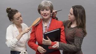 Waxwork Theresa May