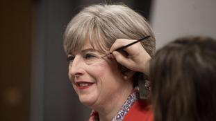 Wax Theresa May