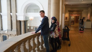 The students performed at Cartwright Hall