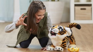 Roaring tiger worth £135 on DreamToys must-have Christmas gift list