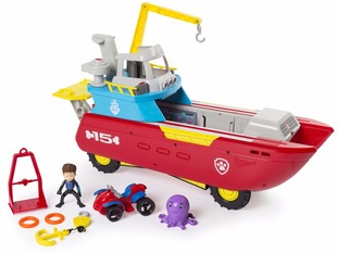 Paw Patrol Sea Patroller features on the list.