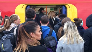 Commuter chaos as five rail companies hit by strikes