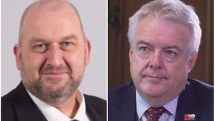 Carl Sargeant and Carwyn Jones