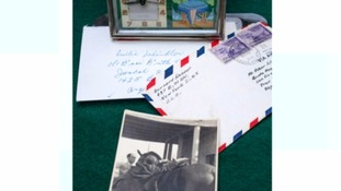 The letters are expected to be sold for hundreds of pounds.