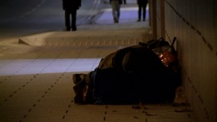 The number of homeless people in the region has increased by 11% in a year.