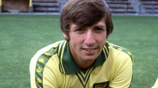 World cup winner and Norwich midfielder Martin Peters