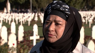 Saleha Islam's grandfather Kurban Ali fought for the British during the War