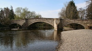 Stone saved from the original bridge is to be used wherever possible