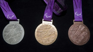 London 2012 Paralympic medals.