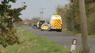 The collision between two vehicles happened in Murrow near Wisbech.