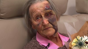 Widow, 88, 'lucky to be alive' after attack by masked intruder