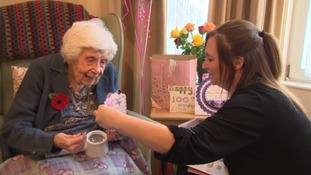 Centenarian receives over 1,000 cards for her 100th birthday