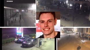 Last movements of Bath student Alex Green revealed