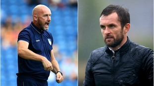 John McGreal and Nathan Jones both have away trips to contend with.