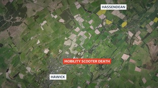 Elderly man travelling on mobility scooter dies in Hawick