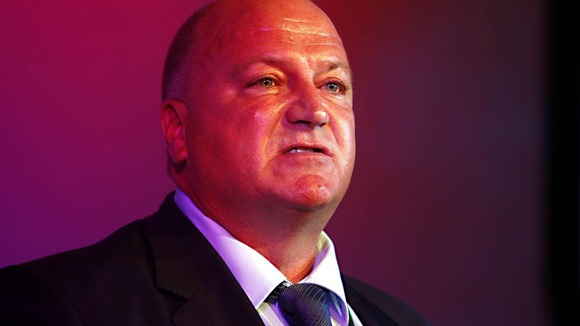 Bob Crow, general secretary of the RMT transport union.