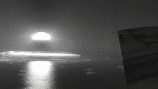 Atomic tests on Christmas Island