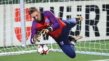 England & Stoke City goalkeeper Jack Butland