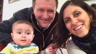 Husband of Hampshire mother imprisoned in Iran calls for Foreign Secretary to secure her release