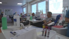 Twenty-one blood donation sessions across Devon and Cornwall are being axed.