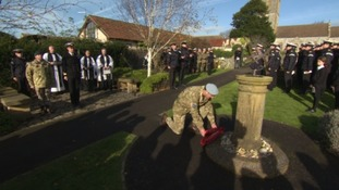 Special remembrance service held at RNAS Yeovilton