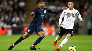 Young England side earn impressive draw with Germany at Wembley