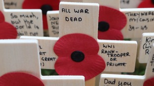 Armistice Day: Nation falls silent to remember war dead