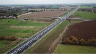 The first section of the new northern bypass for Norwich has opened to traffic.