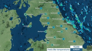 Cold and clear for many areas.  Raw north wind, possibly bringing a few showers to the coast and North Yorks Moors