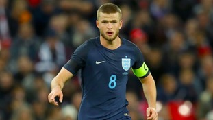 Dier proud to be captain but unsure if he will keep the armband for Brazil game next week