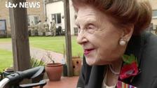 Blind veterans including Elizabeth, 97, commemorate Armistice Day