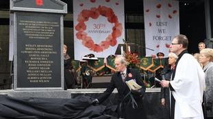 Enniskillen memorial
