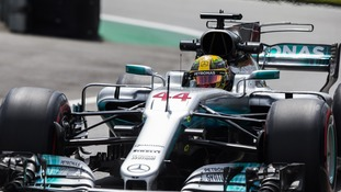 The eight crew members - mostly mechanics - were attacked as they left the Interlagos circuit.