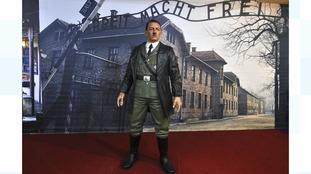 Museum removes Adolf Hitler 'selfie' waxwork model