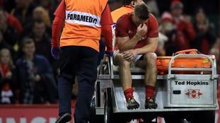 Jonathan Davies injury concern for Wales