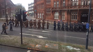 the veteran and armed forces parade