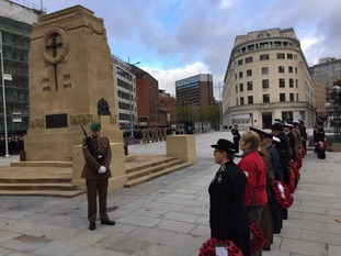 A two-minute silence was held across the country and wreaths were laid at memorials.