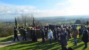 The Crich Memorial in Derbyshire